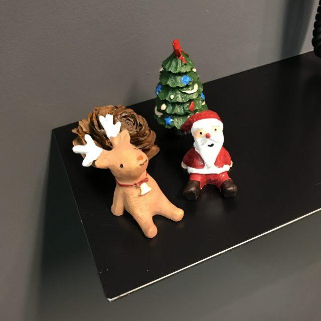 会社受付のクリスマスオーナメント